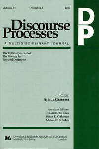 """Argumentation in Psychology: A Special Double Issue of """"""""Discourse Processes"""""""":"""