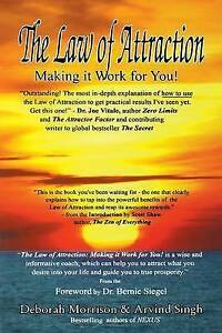 Law of Attraction: Making It Work for You! by Morrison, Deborah -Paperback