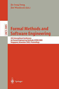 Formal Methods and Software Engineering: 5th International Conference on Formal