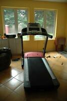 Treadmill tuneup,walking belt lubrication and complete servicing
