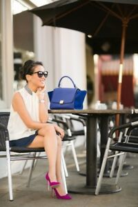 Authentic Celine Trapeze Bag size Small in Blue Indigo Meadowbank Ryde Area Preview