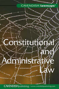 NEW LawMap in Constitutional & Administrative Law by Cavendish