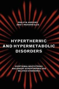 Hyperthermic and Hypermetabolic Disorders: Exertional Heat-stroke, Malignant Hy