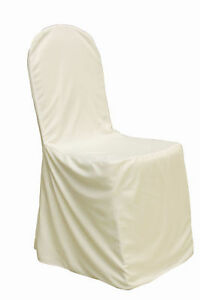 6 Ivory Chair Covers for Sale