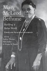 Mccluskey-Mary Mcleod Bethune  BOOK NEW