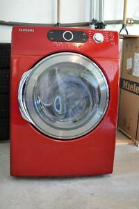 Samsung Front Load Dryer - Red - Great Shape!