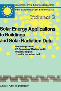 Solar Energy Applications to Buildings and Solar Radiation Data (Solar Energy an