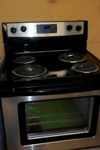 TWO WORKING STAINLESS SELF CLEANING STOVES AVAILABLE PRICED EACH