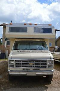 CLASS CHEVROLET  MOTORHOME FOR SALE