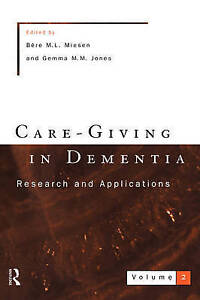 Care-Giving In Dementia 2 (Vol 2)-ExLibrary