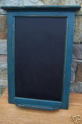 CUSTOM PRIMITIVE COUNTRY COTTAGE CHALKBOARD /18 COLORS!