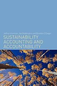 Sustainability Accounting and Accountability - Unerman, Bebbington & O'Dwyer