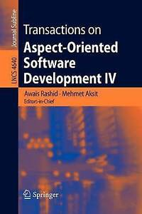 Transactions on Aspect-Oriented Software Develop, , New
