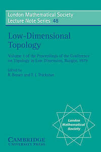 Low-Dimensional Topology (London Mathematical Society Lecture Note-ExLibrary