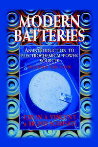 Modern Batteries 2nd Edition, Second Edition-ExLibrary