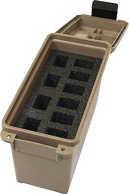 Mtm Tactical Magazine Can Dark Earth Holds 10 Ds Handgun Mags TMCHG