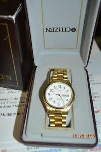 MENS CITIZEN WATCH  DAY AND DATE
