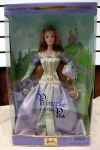 2001 princess and pea collector barbie