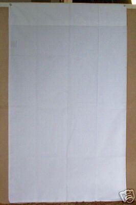 Queen Size Pillow Case, 1 Dozen, NEW White