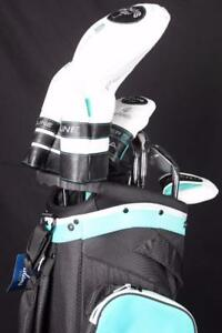 Adams Idea Super S Teal Golf Club Set Left-Handed Women