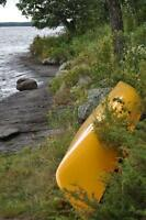 CANOE LOST IN STORM ON BIG WHITESHELL LAKE