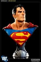 DC Comics Superman Life Size Bust from Sideshow Collectibles