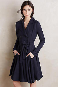 Anthropologie Fayette Trench- XS