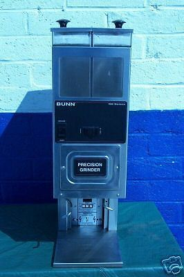 Coffee Grinder 2 Heads 115 Volts Bunn Precision Grinder 900 Items On Ebay