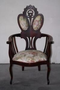 Vintage Rosewood Victorian Chair