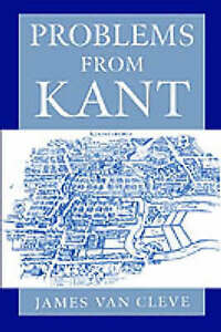 Problems from Kant, Van Cleve, James, New Book