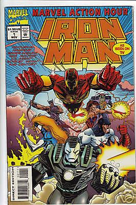 Marvel Action Hour... Iron Man #1 1994 War Machine