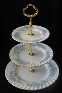 MINTON 3 TIERED CAKE STAND