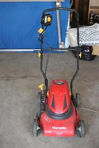 "Homelite 17"" 24V Cordless Rechargeable Electric Lawn Mower"