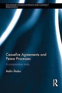 Ceasefire Agreements and Peace Processes, Malin Åkebo
