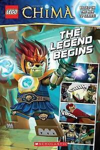 Chima The Legend Begins by Scholastic (Paperback / softback, 2013) New Book