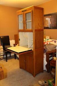 Antique Bakers cabinet
