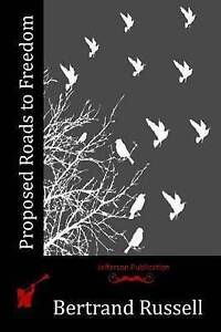 Proposed Roads to Freedom Russell, Bertrand, III -Paperback
