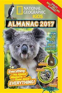 National Geographic Kids Almanac 2017 by National Geographic Kids -Hcover