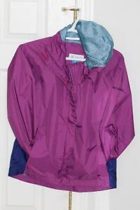 Girls Columbia Rain Coat