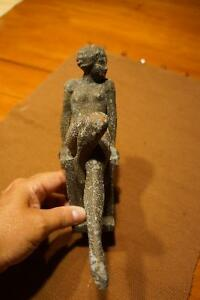 MASCOT/ ORNAMENT ART DECO NUDE ACCESSORY PIECE