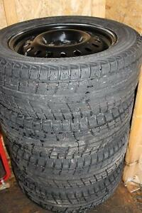 4 used Toyota Venza winter tires/wheels combo for sale
