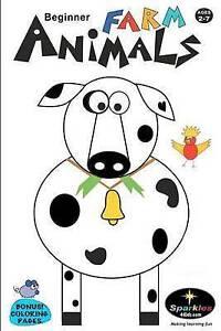 NEW Beginner FARM ANIMALS: Beginner FARM ANIMALS by Sparkles 4 Kids