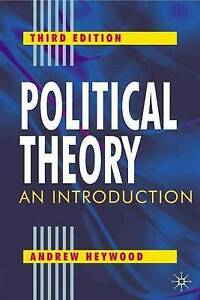 Political Theory: An Introduction Book Politics Prime Minister Heywood, Andrew