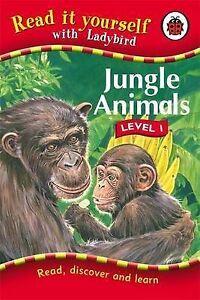 Ladybird Hardback Book Read It yourself - Jungle Animals