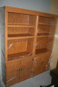 Wall Unit/Bookcase with Doors
