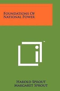 Foundations of National Power -Paperback