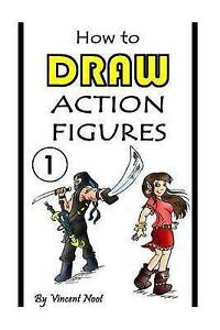 How Draw Action Figures Book 1 More Than 130 Sketches Act by Noot Vincent