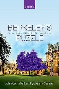 Berkeley's Puzzle: What Does Experience Teach Us? by John Campbell, Quassim...