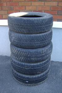 5 pneus été 185/65R14  (5$ chaque!!!!)