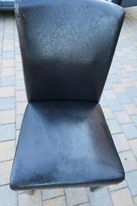 Faux leather dining chair Peterborough Peterborough Area image 2